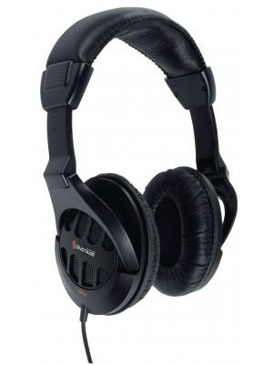 König Hoofdtelefoon Over-Ear 3.5 mm 2.5 m Zwart
