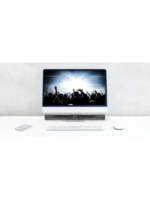 Konig Soundbar Bluetooth 15 W Zwart