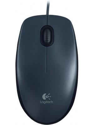 Logitech Lgt-m90 Optische Bedrade Usb Mouse Zwart