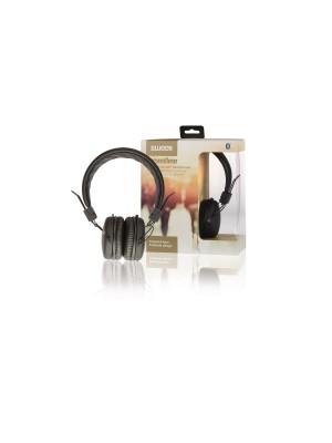 Hoofdtelefoon On-Ear Bluetooth 1.00 m Zwart